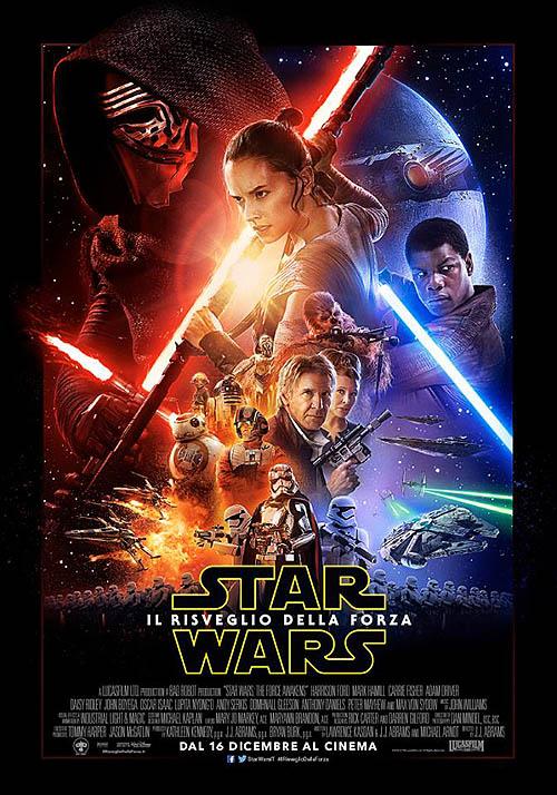 star wars il risveglio della forza poster